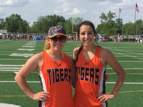 NB Track Regional 2016 Megan Ernsberger and Jordan Bucher