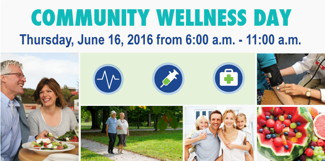 Final Day for Community Wellness Day Registration