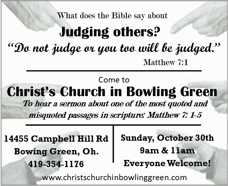 """What Does the Bible Say About Judging Others?"""