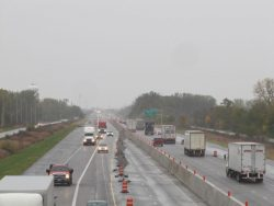 Soon to be a thing of the past - All 3 lanes to be open for Thanksgiving!
