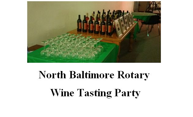 Rotary Wine Tasting Party is Friday