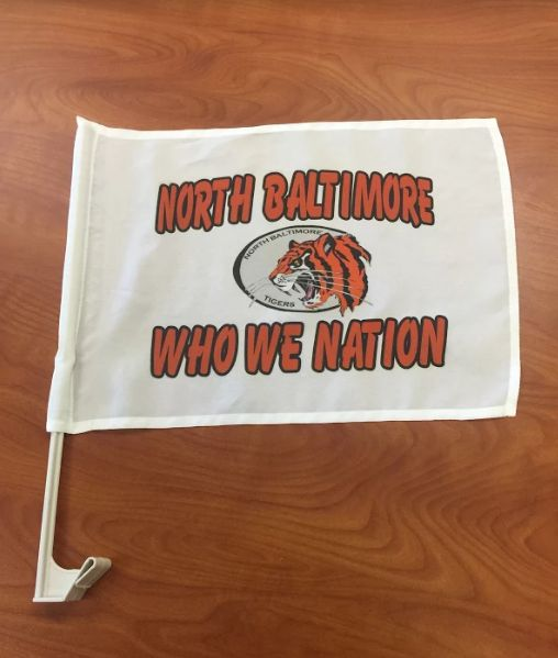 """Who We"" Nation Car Flags"