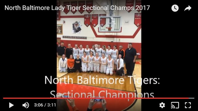 Video:  Lady Tigers Sectional Win Highlights