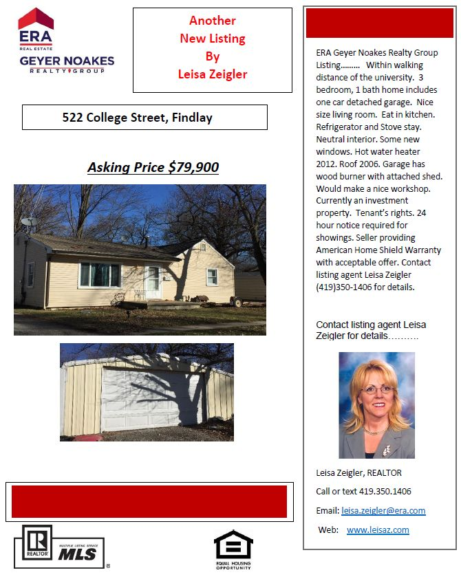 Investment Property or Starter Home
