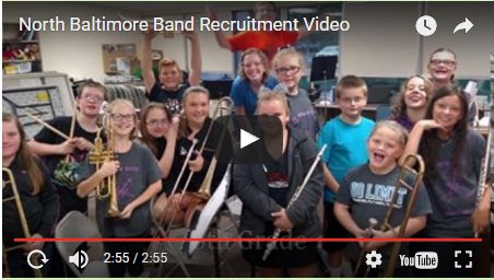NB Band Recruitment Video for Beginning Band