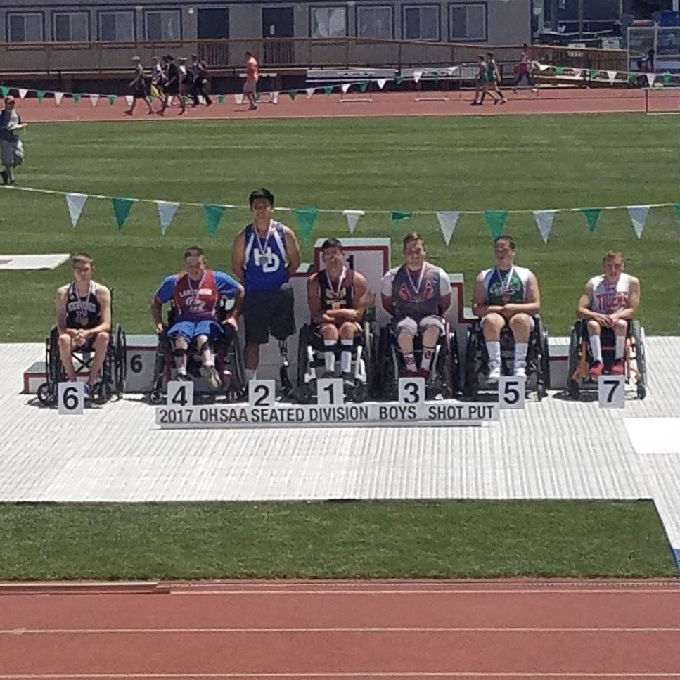 BRANDON LANNING COMPETES AT STATE TRACK MEET