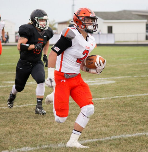 Tiger Football Tripped Up at Otsego