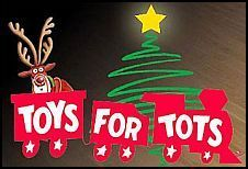 NB Mid-Wood Hardware – Tire Shop 'Toys for Tots'