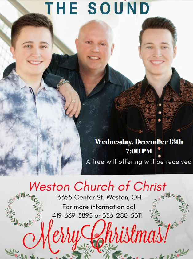 FREE Concert at Weston Church of Christ