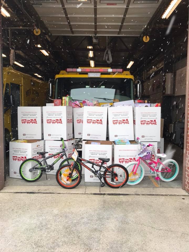 Saturday – 6th Annual NBFD Toys for Tots