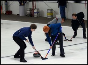 BG Curling Club Celebrates its 50th Anniversary at New Curling Center