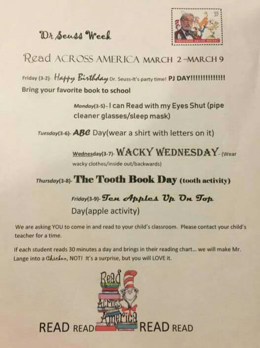 Dr. Seuss Week at Powell Continues