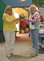 Gleaners Host Potluck and Share Donations