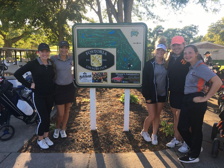 NB Lady Tigers' Golf Team Advance to Districts