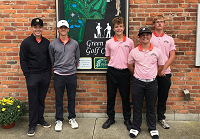 NB Boys' Golf Team finishes 6th at Sectionals