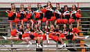 Fall NBHS Cheerleading Team Picture