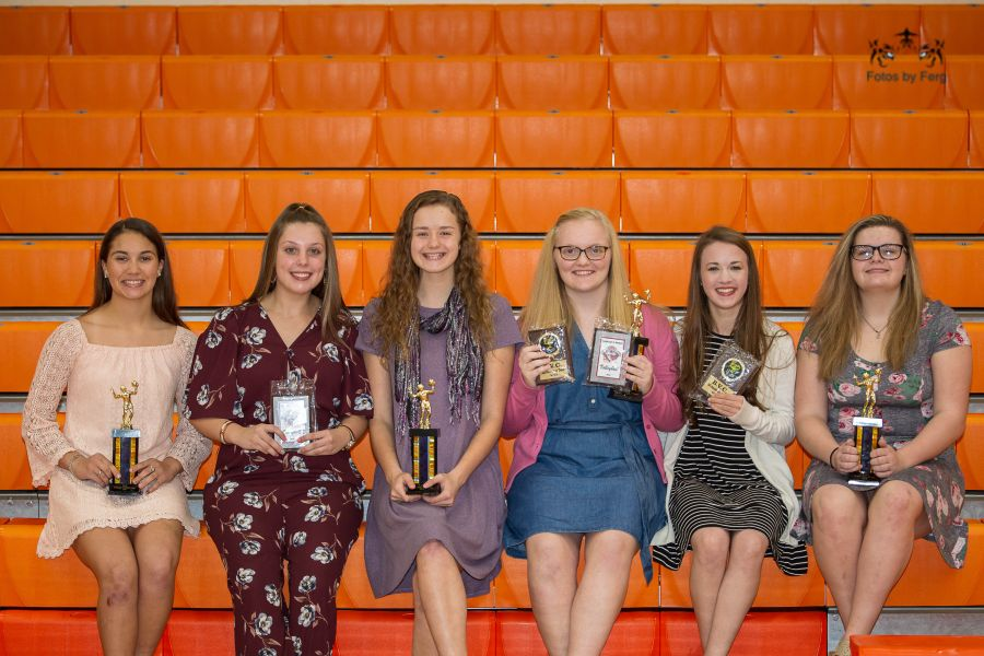 NBHS Volleyball 2018 Awards