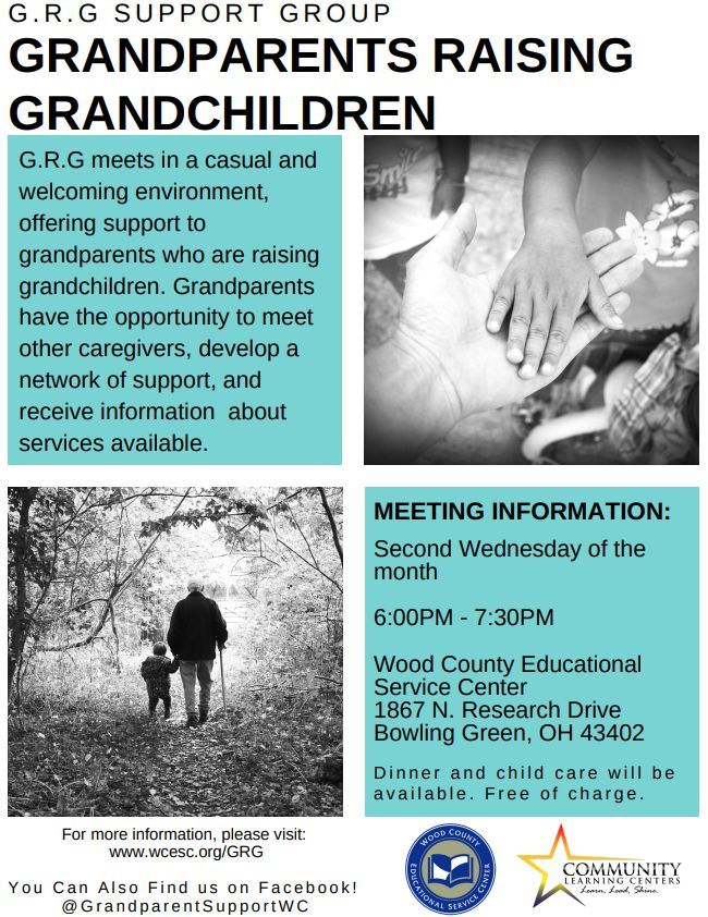 Grandparents Raising Grandkids Support Available