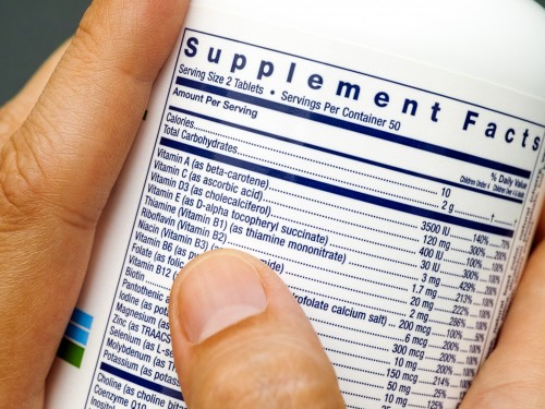 Chowline: Dietary supplements to gain scrutiny