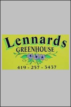 Lennard's Greenhouse opens TODAY – April 19