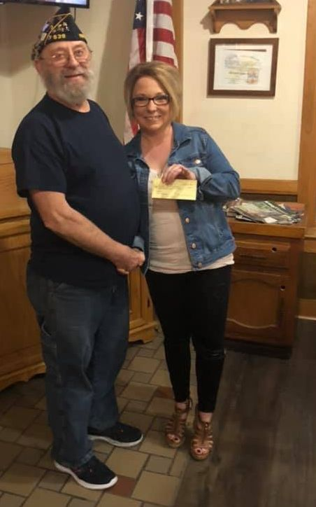 Legion Donation to NB Youth League