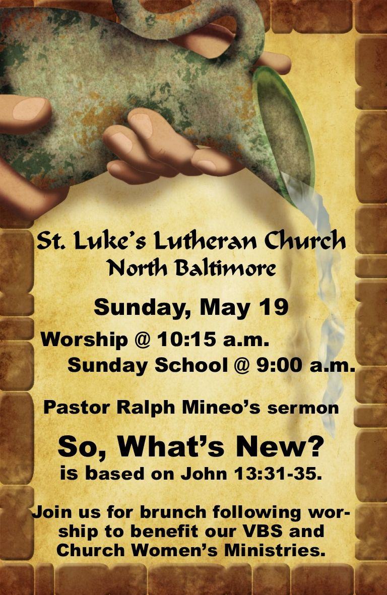 St. Luke's Worship News