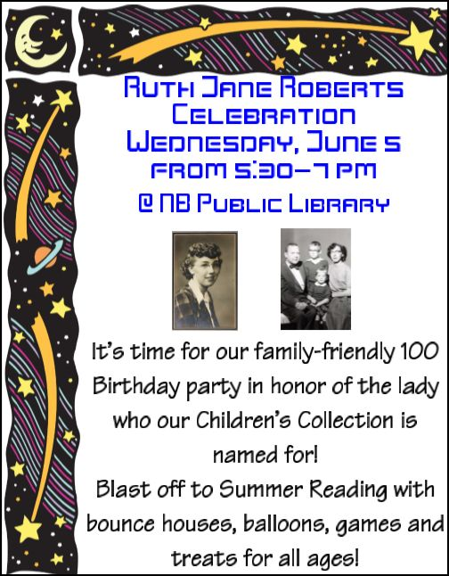 Fun for the Whole Family at NB Library Event