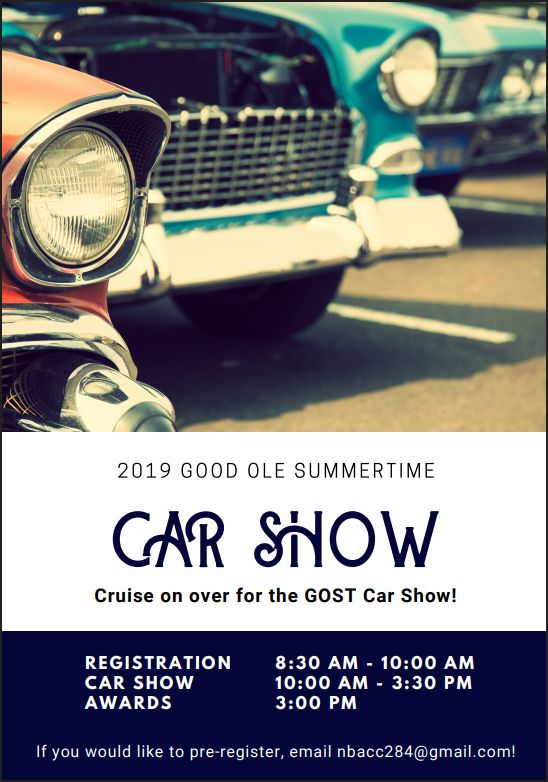 GOST Car Show Info