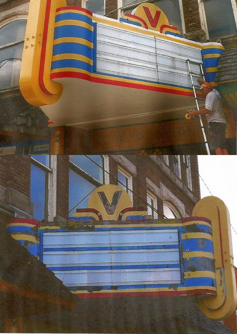 GOAL REACHED!!! Virginia Theater Marque Getting Paint Job for 40th GOST