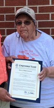 Congressional Record to Bonnie Knaggs