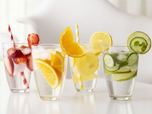 chowline infused water