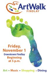 Celebrate the Arts during Fall ArtWalk in Downtown Findlay