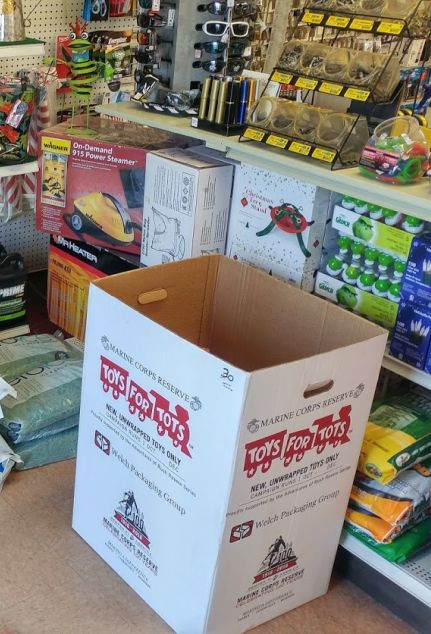 NBFD Toys For Tot Drop-Off at Mid-Wood