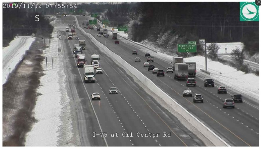 I 75 at Eagleville Rd Clear and moving well this morning!