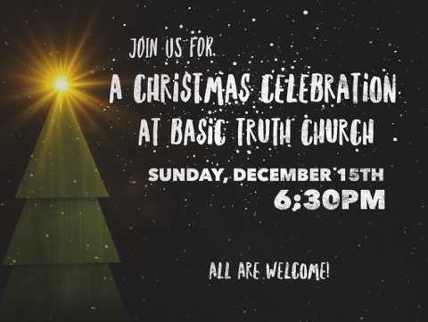 BTC Christmas Celebration Dec. 15th
