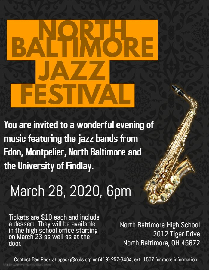 Jazz Festival Coming to NBHS