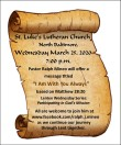Lutheran News for Wednesday