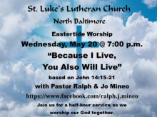 St. Luke's Wednesday Worship