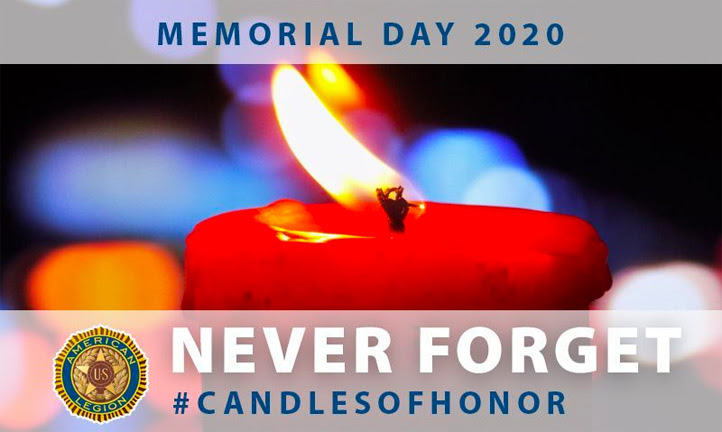 Light Candles of Honor for Memorial Day