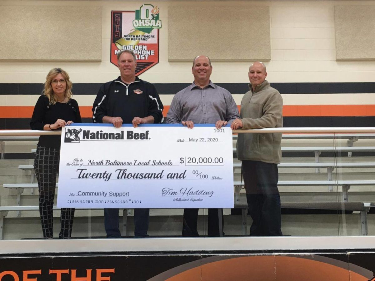 National Beef Gives Generous  NBLS Donations
