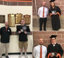 NBHS Tiger Athletes Receive Awards