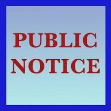 NB Village: PUBLIC NOTIFICATION OF INTENT TO FILE AN APPLICATION