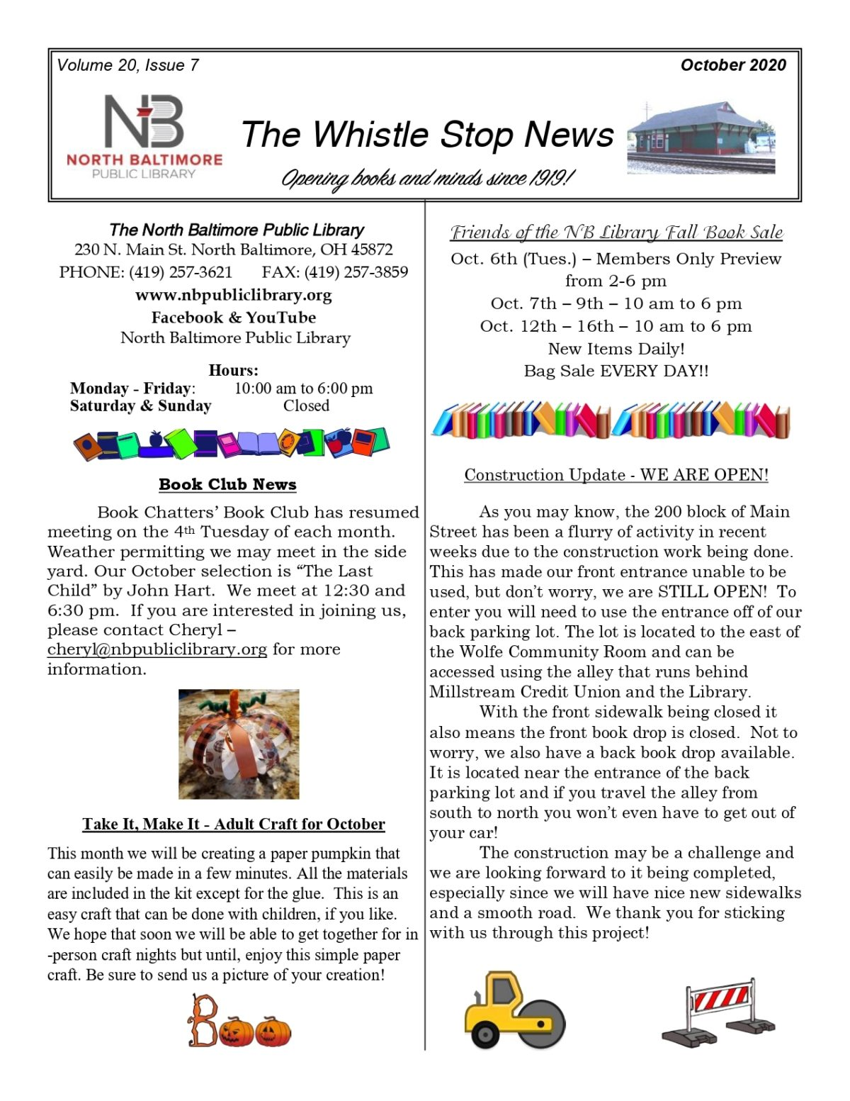 News from the NB Public Library