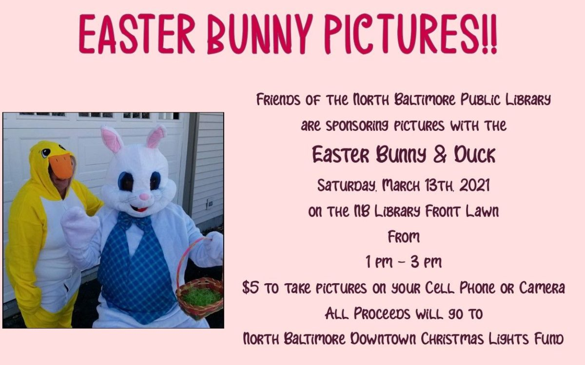 Pictures with the Easter Bunny &Duck
