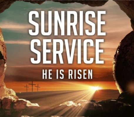 Easter Drive-In Sunrise Service in NB