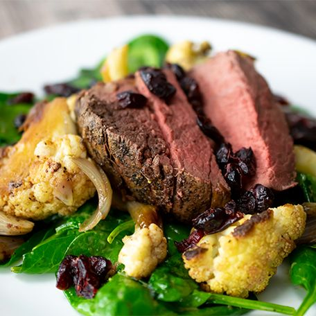 A Beautifully Baked Beef Dinner