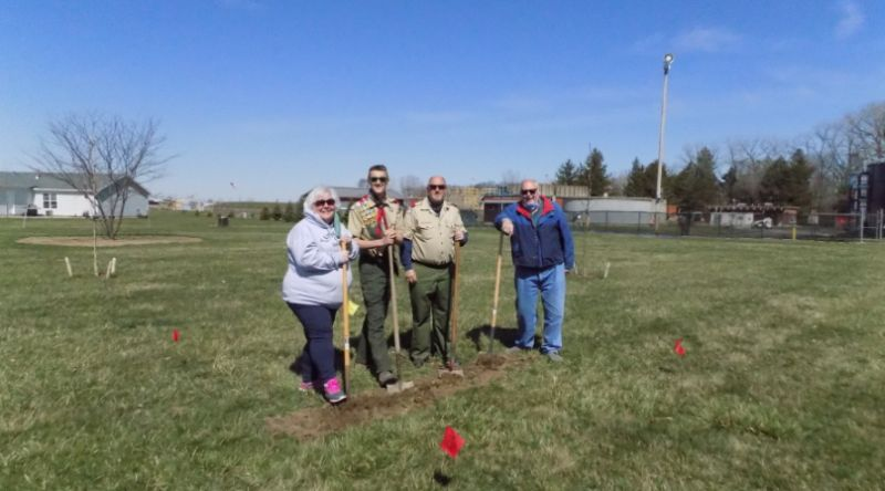 Another Eagle Scout Project in NB