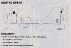 GOST 2021 Car Show Map/Directions