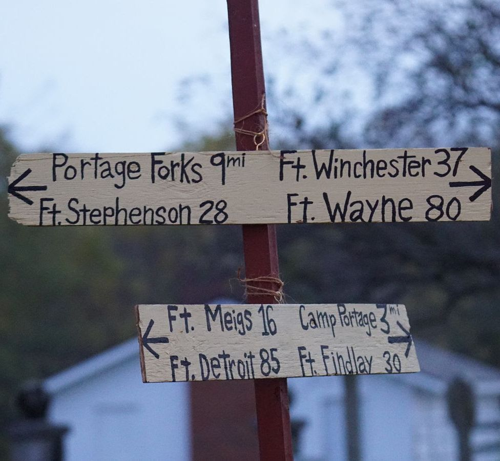 This Weekend Wood Co. Historical Reenactment: Early Life Along the Portage
