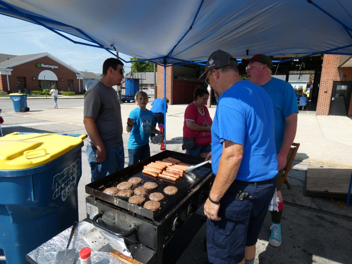 Boys Scouts Will Have Breakfast & Sandwich Food Stand GOST
